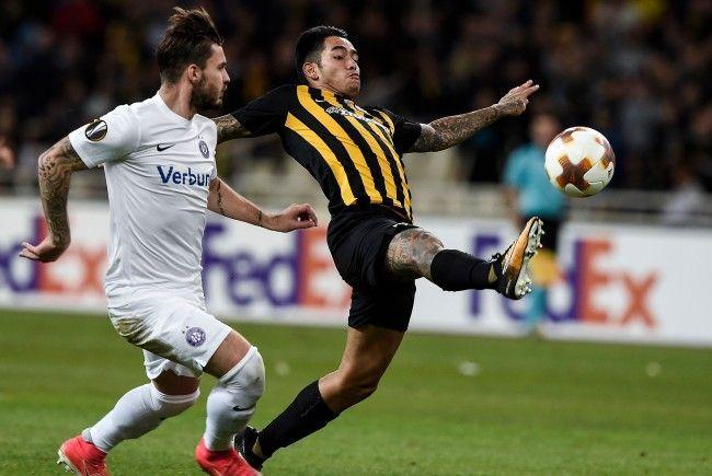 Europa League: Austria muss gegen AEK gewinnen