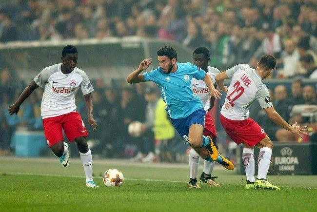 Heute LIVE: Marseille gegen Red Bull Salzburg .
