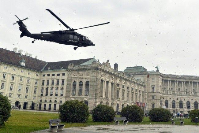 Der Luftraum wird während des OSZE-Treffens in Wien gesichert.