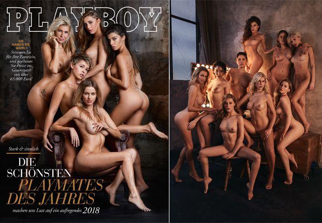 Playboy Ausgabe Jänner 2018: Wer ist das schönste Playmate 2017?