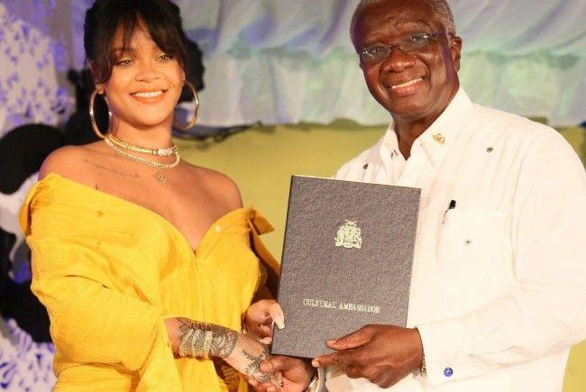 Rihanna darf sich über eine ganz besondere Ehrung freuen.