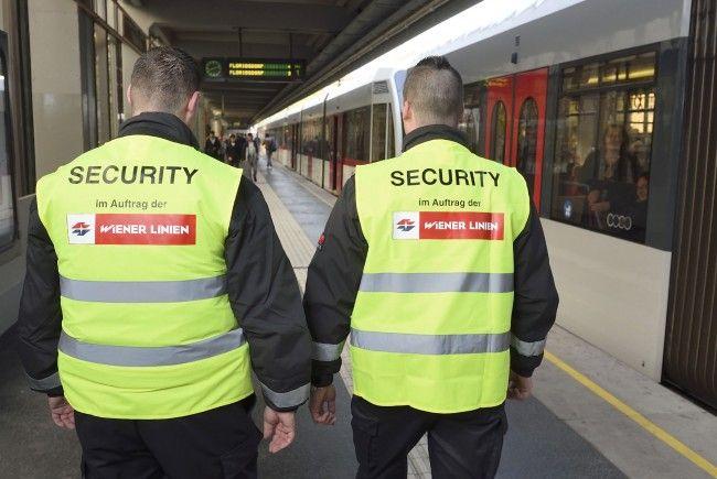 Die Security-Kräfte der Wiener Linien sollen für die Sicherheit in U-Bahn und Co. sorgen