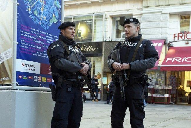 Bereits in den letzten Jahren gab es am Wiener Silvesterpfad großes Polizeiaufgebot