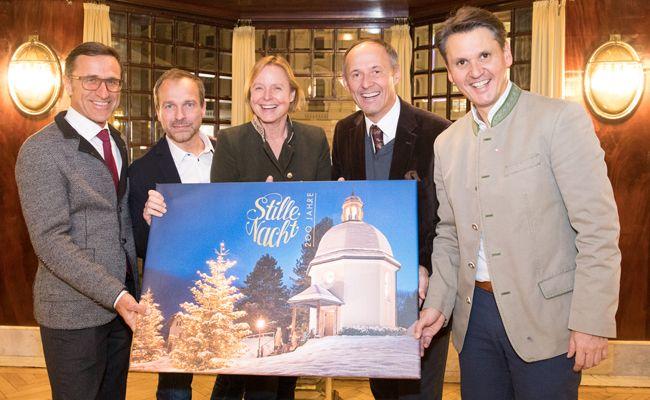 Im Wiener Looshaus wurde der Auftakt zum Stille Nacht-Jubiläumsjahr gefeiert.