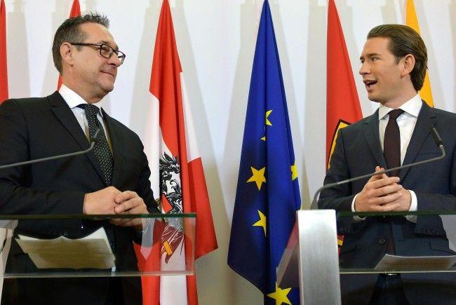 Für die neue ÖVP-FPÖ-Regierung gibt es nicht nur Kritik.