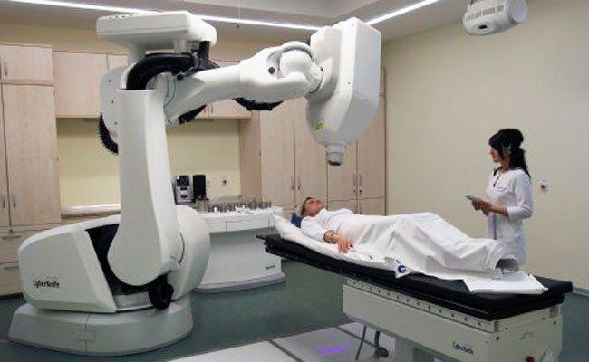 Im Hietzinger Krankenhaus wurde ein neues Strahlenzentrum errichtet.