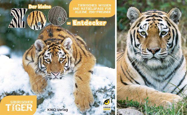 Dieses Buch verrät allerlei Wissenswertes über die stolzen und schönen Tiger