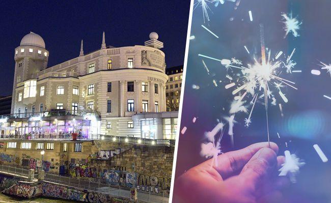 An der Urania Wien ins Neue Jahr feiern.