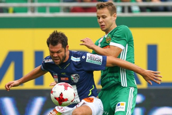 LIVE-Ticker zum Spiel Wolfsberger AC gegen Rapid Wien.
