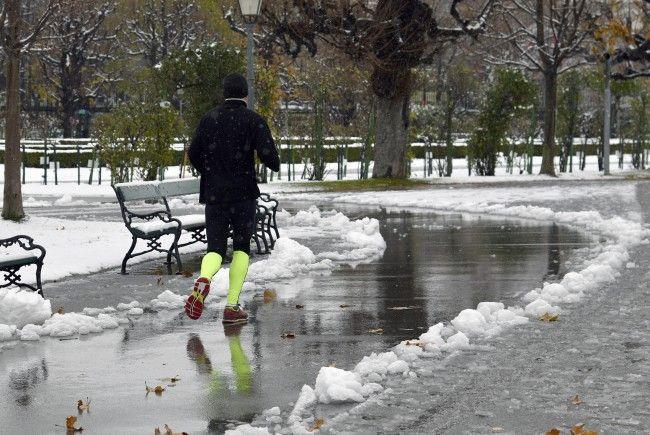 Am Wochenende wird es in Wien winterlich.