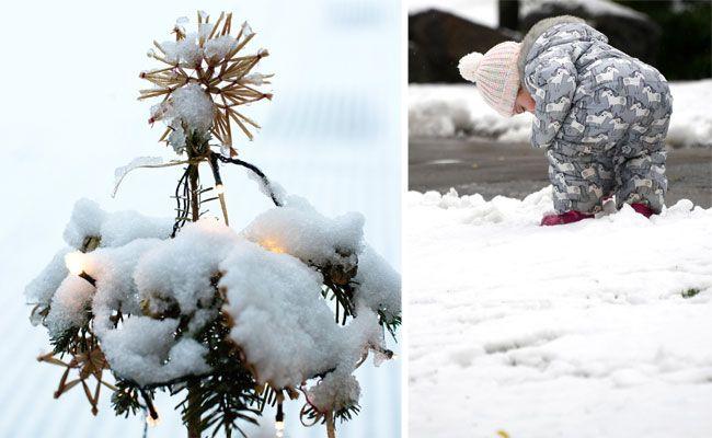 Weiße Weihnachten wären ja sehr schön - aber ob sich das in Wien ausgeht?
