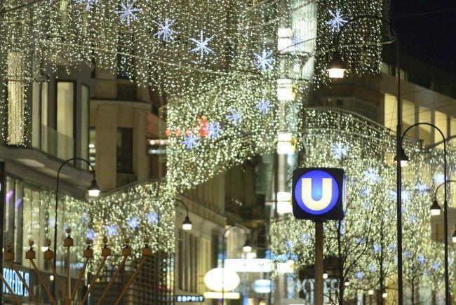 So sind Wiens U-Bahnen, Busse und Straßenbahnen am 24. Dezember unterwegs.