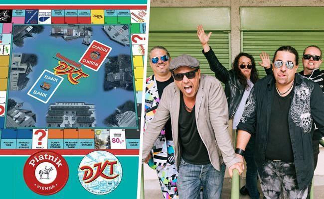 Die Band Wiener Wahnsinn hat den DKT-Klassiker mit Donaustädter Charme versehen.