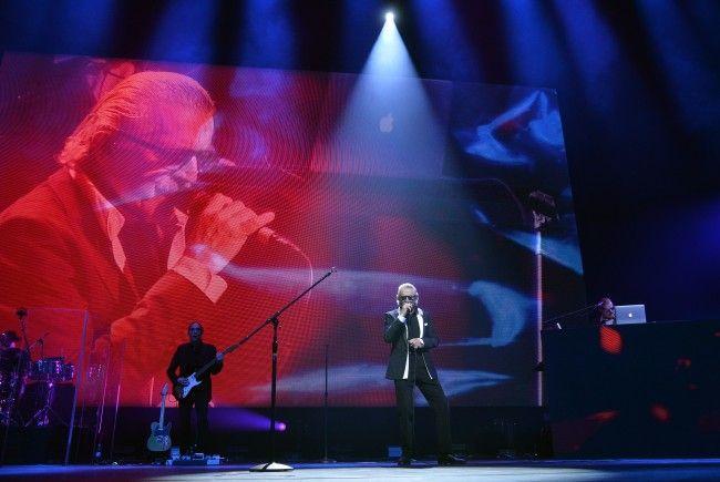 Yello lieferten in der Wiener Stadthalle eine Nostalgieshow.