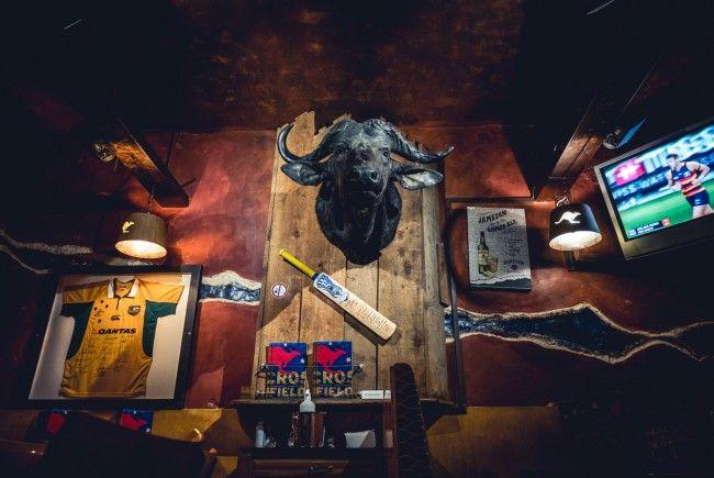 Natürlich wird der Australia Day in Crossfield's Australian Pub in Wien gefeiert.