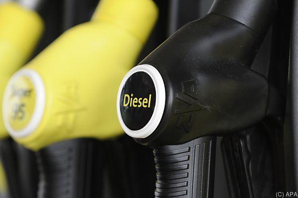 Konjunkturbedingt gab es beim Diesel eine höhere Nachfrage