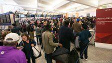 4,1 Milliarden Flug-passagiere weltweit