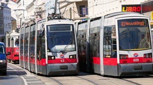 Nach Verkehrsunfall: Betrieb der Wiener Linien 43 und 44 gestört