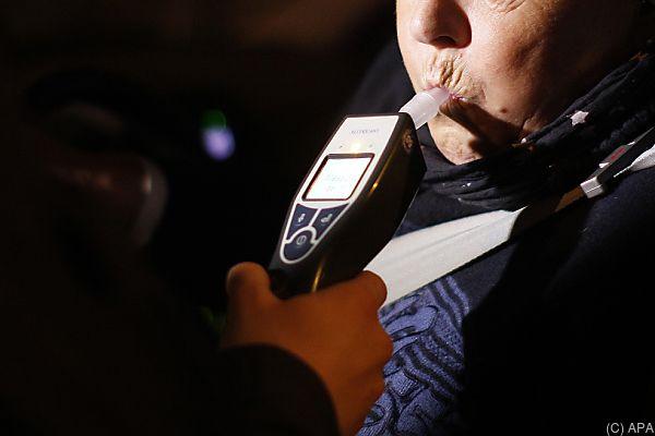 Dem Betrunkenen wurde der Führerschein abgenommen