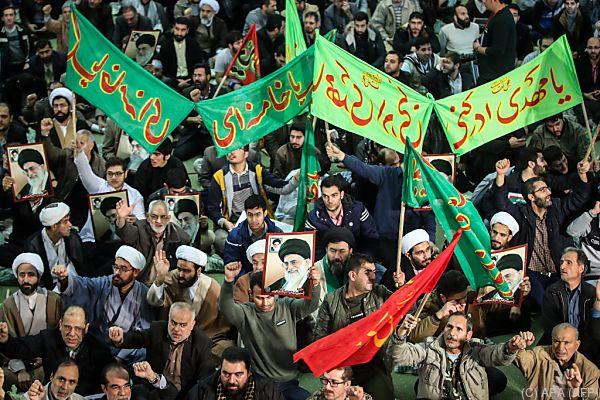 Regierungsunterstützer gingen auf die Straße (Archivbild)