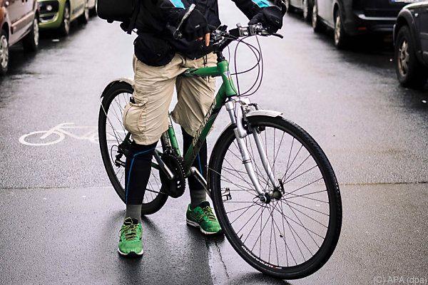 Fahrradfahrer, nicht die besten Freunde der Wiener Opposition