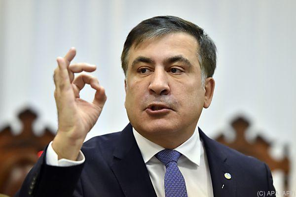 Saakaschwili gilt derzeit als staatenlos