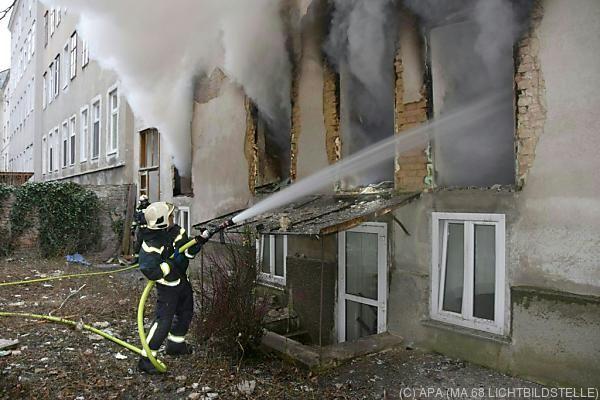 Bei der Explosion wurde der Hausverwalter getötet