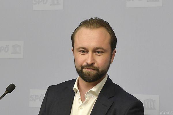 SPÖ-Bundesgeschäftsführer Max Lercher übte Kritik