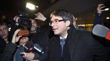 Puigdemont will im Exil Regierung bilden