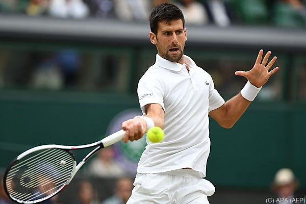 Djokovic hat seit Wimbledon kein Turnier mehr bestritten