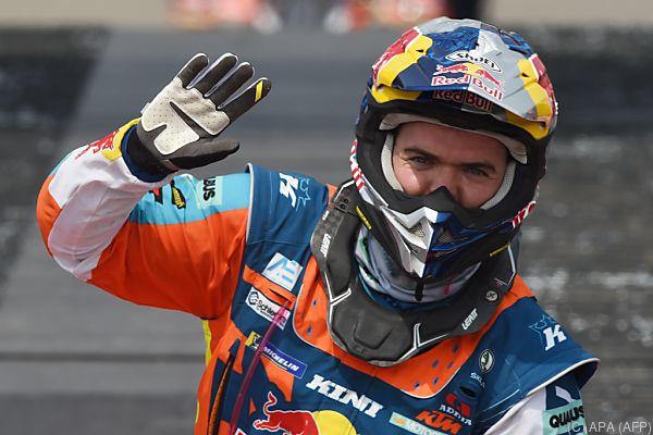 Walkner behielt auf der sechsten Etappe seinen dritten Gesamtrang