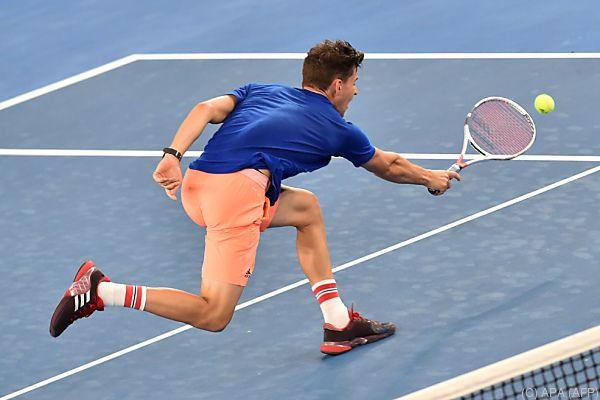 Thiem machte gegen Nadal einen guten Eindruck