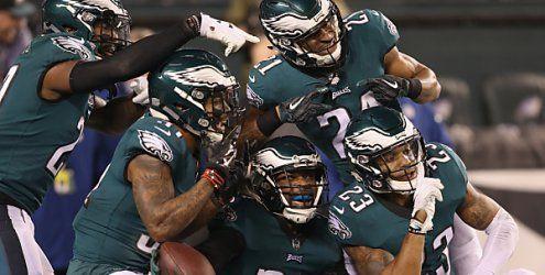 Philadelphia als Super-Bowl-Herausforderer der Patriots