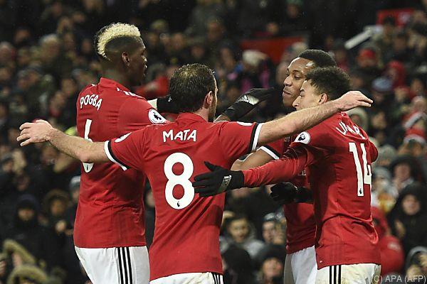 Manchester United zumindest finanziell an der Tabellenspitze