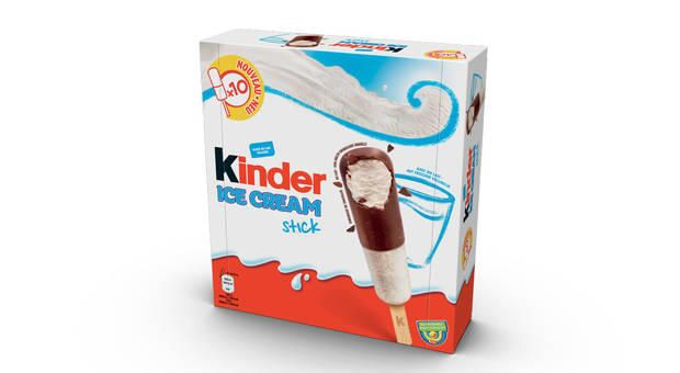 """Das neue """"Kinder""""-Schokoladen-Eis."""