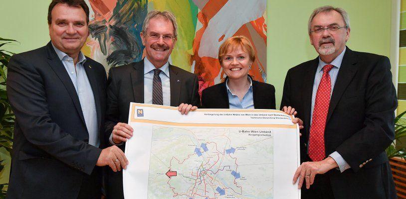 U4-Verlängerung nach Niederösterreich: Untersuchungen sind bereits angelaufen