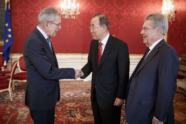 Ban Ki-moon hält sich derzeit in Wien auf.