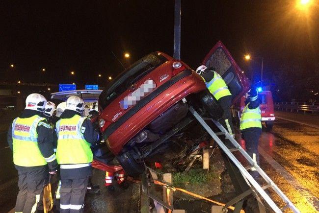 Die meisten Unfälle passieren auf der Wiener Südost-Tangente.