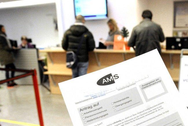 Inklusive AMS-Schulungsteilnehmern waren Ende Dezember 443.481 Personen auf Arbeitssuche