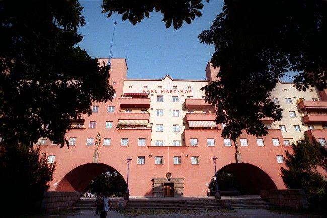 Der Karl-Marx-Hof gehört zu den bekanntesten Gemeindebauten Wiens.