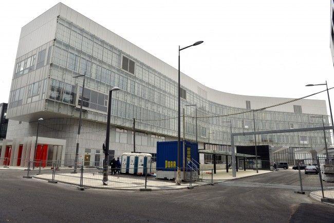 Die Außenansicht des Wiener Krankenhaus Nord.