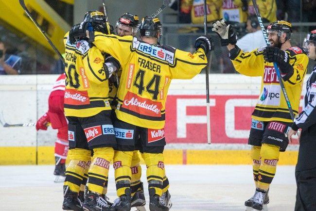 Die Vienna Capitals besiegten den KAC in Wien.