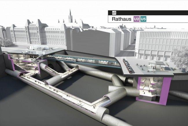 Noch in diesem Jahr wird mit der Erweiterung des Wiener U-Bahn-Netzes gestartet.