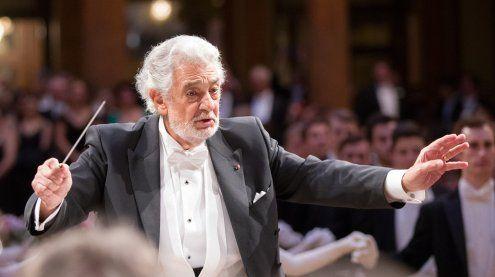 Tenor Placido Domingo dirigierte am Wiener Philharmonikerball
