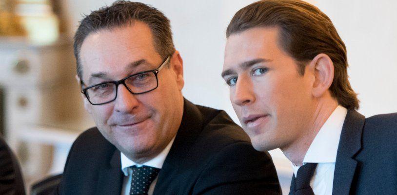 BK Kurz verteidigte Koalition mit der FPÖ