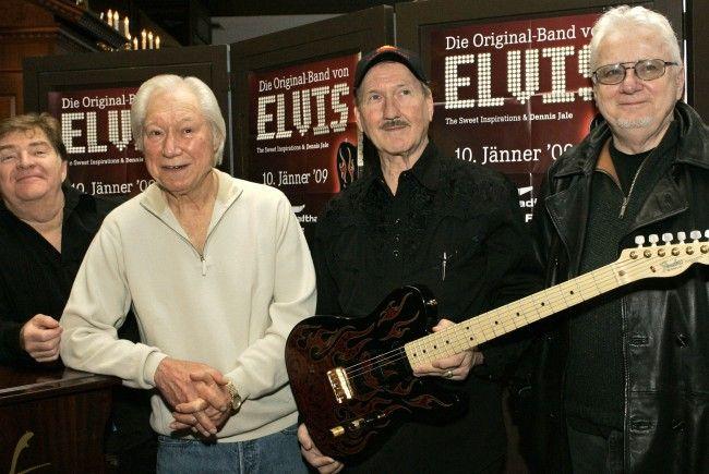 Elvis-Gitarrist James Burton kommt im Jänner 2018 nach Wien.