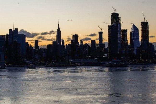 Die extreme Kälte in New York führte nun zur Umkehr eines AUA-Fliegers