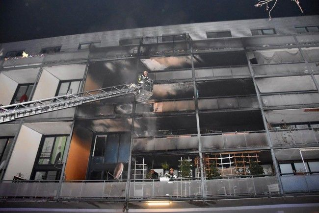 Die Wiener Feuerwehr war ab 21:30 Uhr in erhöhter Alarmbereitschaft
