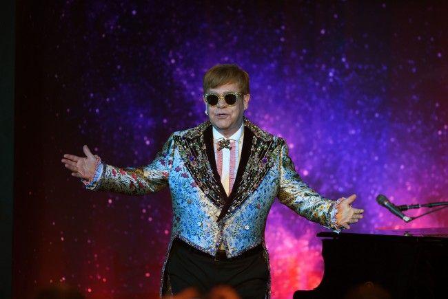 Pop-Legende Elton John kommt mit seiner letzten Tournee auch nach Wien