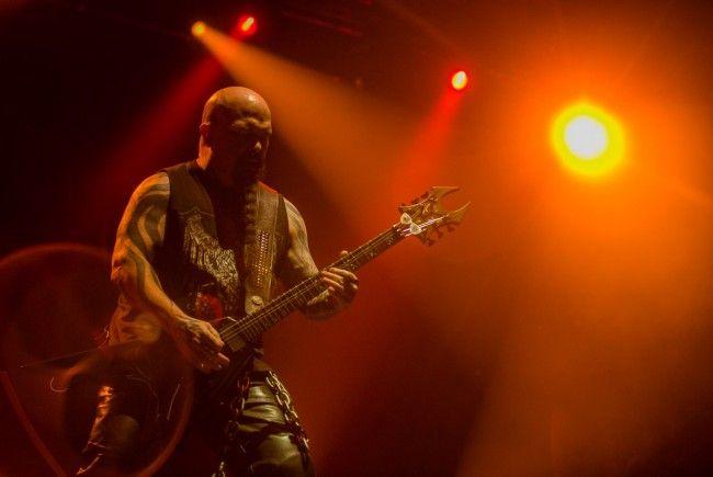 Slayer geben auch im Wiener Gasometer ein Abschiedskonzert.